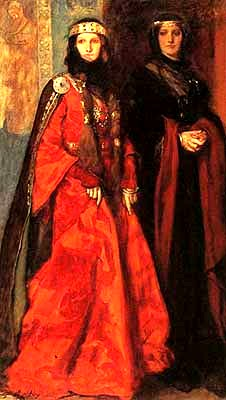 可納莉和瑞根Goneril and Regan from King Lear_艾比Edwin Austin Abbey.jpg