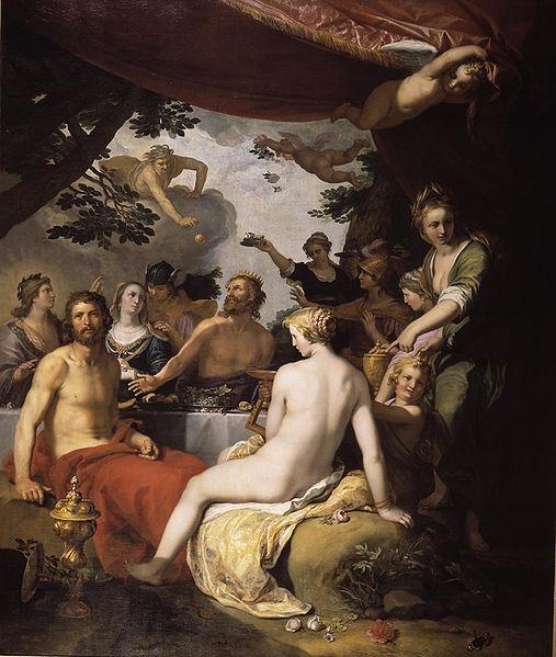 The Wedding of Peleus and Thetis珀琉斯和忒提斯的婚禮_亞伯拉罕‧布魯馬特Abraham Bloemaert .jpg