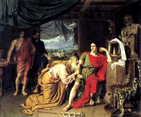 Priam Asking Achilles to Return Hector's Body普里阿摩斯贖回赫克托爾的屍體_亞歷山大.伊凡諾夫Alexander Ivanov.jpg