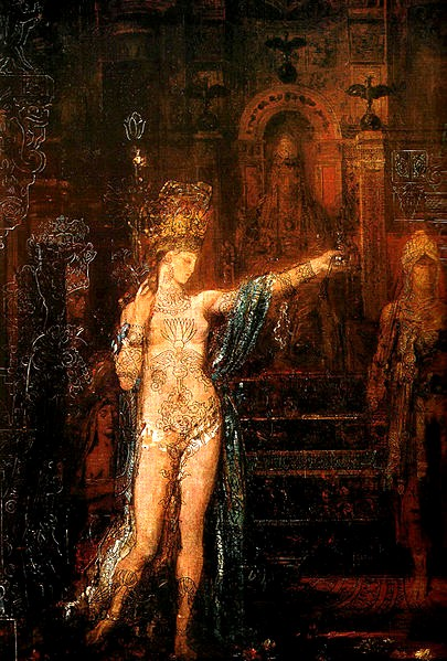 莎樂美Salomé _居斯塔夫· 摩洛 Gustave Moreau.JPG
