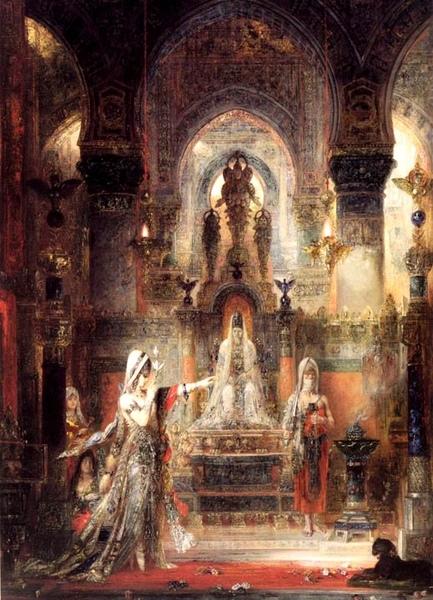 在希律王前跳舞的莎樂美Salome Dancing before Herod_居斯塔夫· 摩洛 Gustave Moreau.jpg