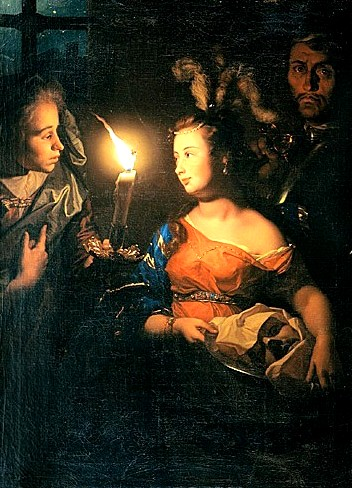莎樂美與施洗者約翰的頭Salome with the Head of John the Baptist_沙爾肯Godfried Schalcken.jpg
