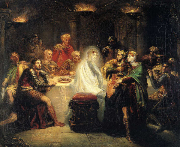 班克的鬼魂 Banquo_泰奧多爾 · 夏塞里奧Théodore Chassériau.jpg