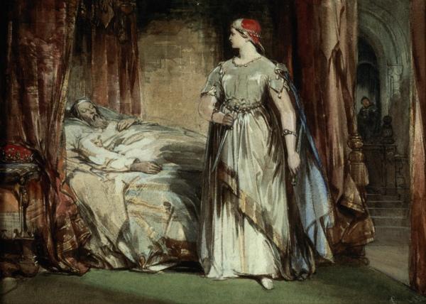 馬克白夫人Lady Macbeth_喬治 · 卡特莫爾George Cattermole.jpg