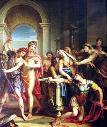 阿基里斯之死The Death of Achilles_漢彌頓Gavin Hamilton.jpg