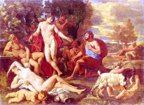 米達斯與酒神 Midas und Bacchus_尼古拉.普桑 Nicolas Poussin.jpg