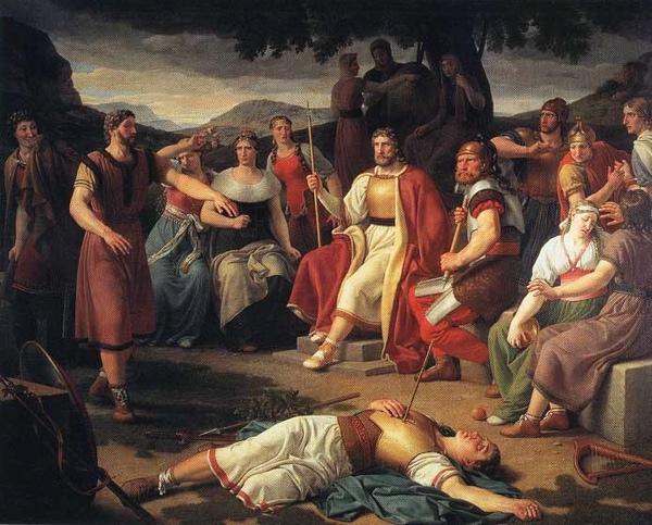 巴德爾之死 Baldr dead_埃克斯貝格Christoffer Wilhelm Eckersberg .jpg