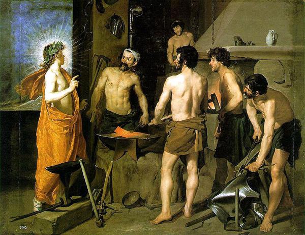 伏爾甘的熔爐The Forge of Vulcan_維拉斯奎茲 Diego Velázquez .jpg