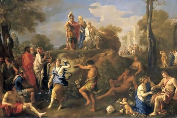 埃涅阿斯冥府會父Aeneas and Anchises in Hades_ 亞歷山大Alexandre Ubeleski.jpg