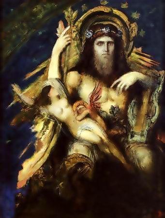 朱比特和塞墨勒 Jupiter and Semele_居斯塔夫‧ 摩洛 Gustave Moreau _.jpg