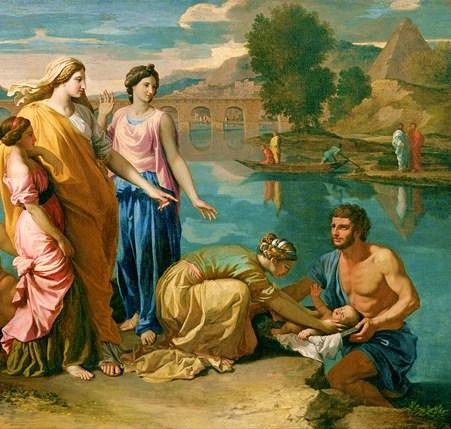 從水中救出摩西 Baby Moses rescued from the Nile_尼古拉.普桑 Nicolas Poussin .jpg