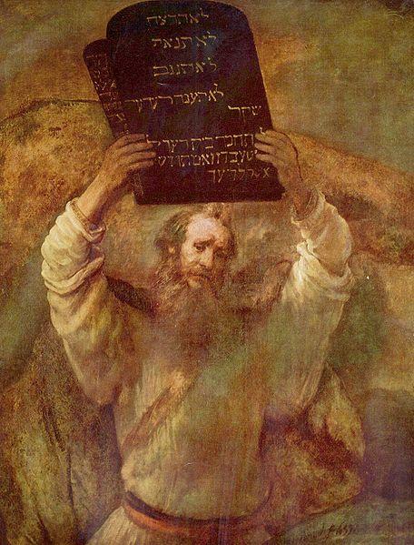 舉誡牌的摩西Moses mit den Gesetzestafeln_林布蘭特Rembrandt Harmensz.jpg