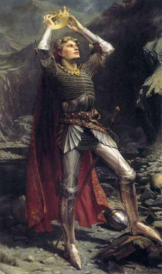 亞瑟王子 King Arthur _巴特勒 Charles Ernest Butler r.jpg