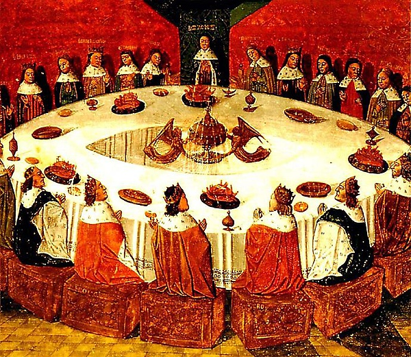 亞瑟王與圓桌騎士King Arthur and the Knights of the Round Table.jpg