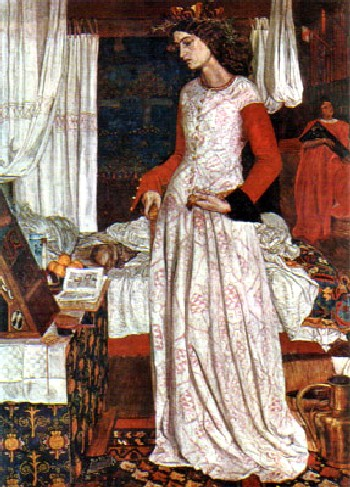 關妮薇王后Queen Guinevere_威廉‧莫里士William Morris    .jpg
