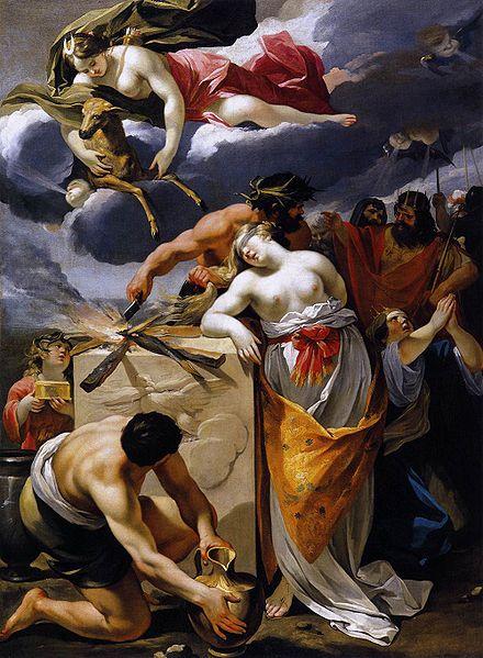 伊斐貞妮雅獻祭The Sacrifice of Iphigenia_皮埃爾François Perrier.jpg