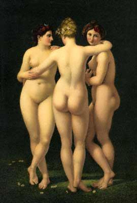 美惠三女神 The Three Gracesr_勒尼奧 Jean-Baptiste Regnault.jpg