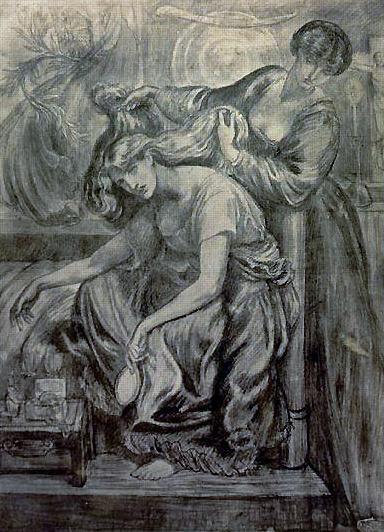 苔絲狄夢娜的死亡哀歌Desdemona's Death Song_羅塞蒂Dante Gabriel Rossetti.jpg