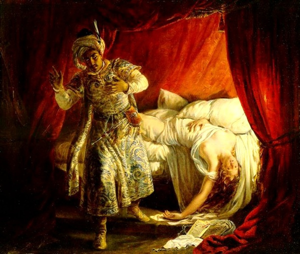 奧賽羅與苔絲狄夢娜Othello and Desdemona_亞歷山大馬里科林 Alexandre Marie Colin.jpg