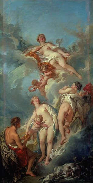 帕里斯的裁判 The Judgement of Paris_布雪 Francois Boucher .jpg