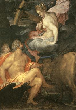 朱比特與伊歐 Giove e Io _費吉諾 Giovanni Ambrogio Figino .jpg