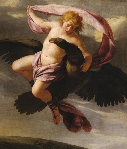 蓋尼米得被劫 Abduction of Ganymede_厄斯塔仕‧勒敘克Eustache Le Sueur .jpg
