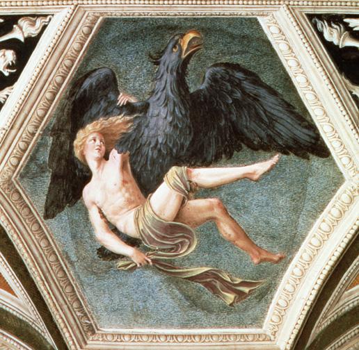 誘拐蓋尼米得 The Rape of Ganymede_柏魯齊Baldassare Peruzzi .jpg