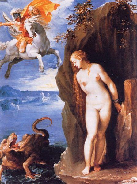 營救安朵美達Perseus Rescuing Andromeda _達爾皮諾Cavalier d'Arpino.jpg
