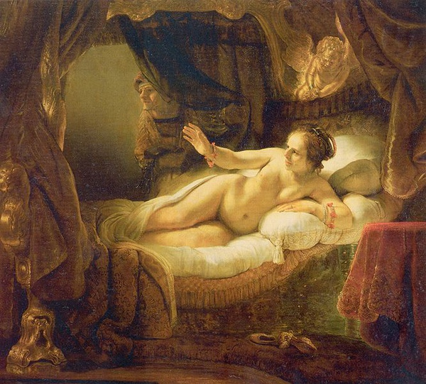 達妮 Danae_林布蘭特Rembrandt Harmensz.jpg