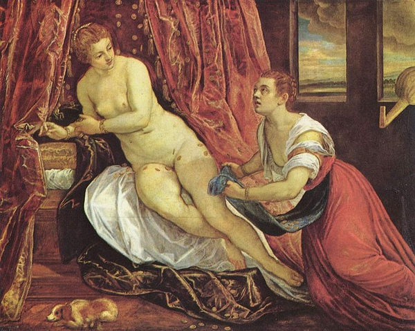 達妮 Danae_丁托列多Tintoretto, Jacopo.jpg