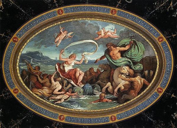 波塞頓和安非特里忒的婚禮 The Marriage of Poseidon and Amphitrite _費利斯 Felice Giani.jpg