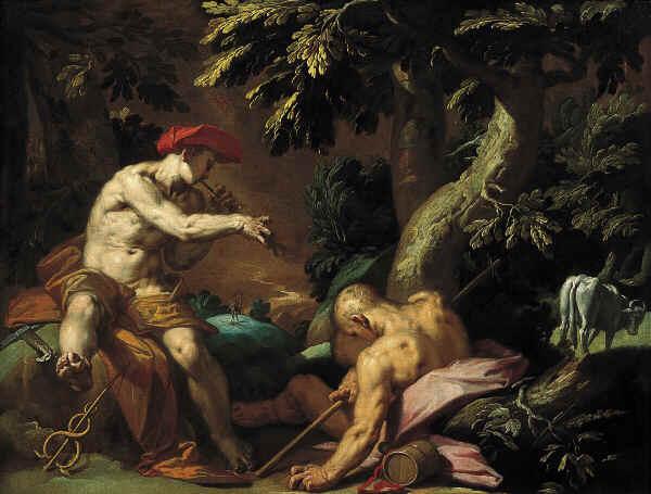 墨丘利‧阿哥斯與伊歐Mercurius, Argus and Io_布鲁馬特Abraham Bloemaert .jpg