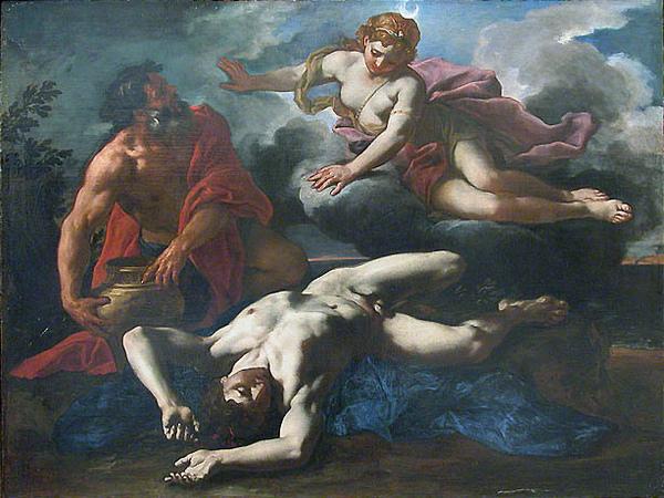 黛安娜來到奧瑞翁的屍體旁Diane auprès du cadavre d'Orion_.jpg