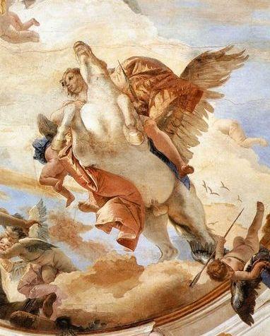 Bellerophon on Pegasus _提埃波羅Giovanni Battista Tiepolo.jpg
