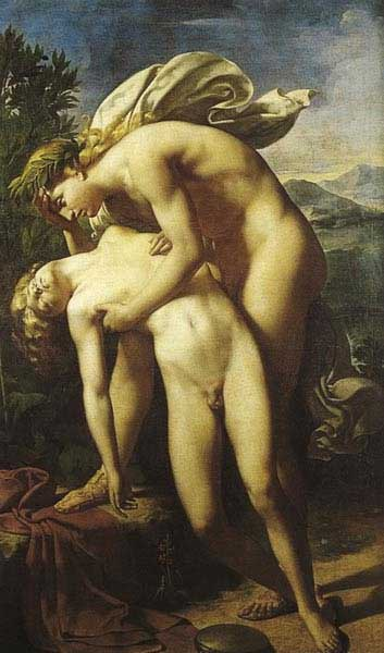 海新瑟斯之死The Death of Hyacinthus_布隆德爾Méry-Joseph Blondel.jpg