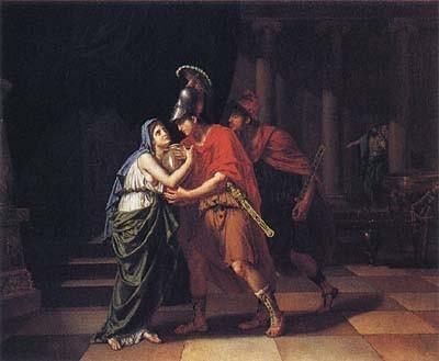 厄勒克特拉受父親的骨灰 Electra Receiving the Ashes  吉恩‧巴蒂斯特‧約瑟夫 Jean-Baptiste Wicarr.jpg