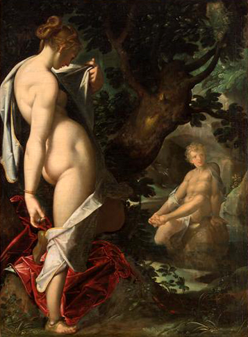 赫耳瑪佛洛狄托斯 和水精靈 Hermaphroditus und die Nymphe Salmacis_巴托洛莫斯·斯普蘭格Bartholomäus Spranger.jpg
