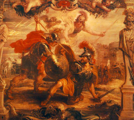 阿基里斯殺害赫克托爾Achilles Slays Hector_魯本斯 Peter Paul Rubens.jpg
