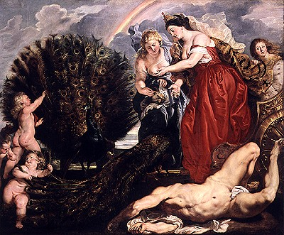 朱諾與阿哥斯Juno und Argus__魯本斯 Peter Paul Rubens.jpg