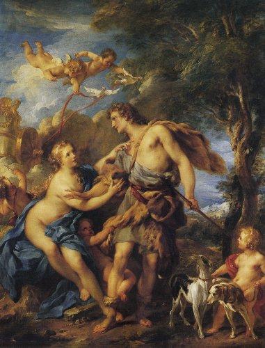 維納斯和亞當尼斯Venus And Adonis弗朗索瓦‧勒穆瓦纳Francois Lemoyne.jpg