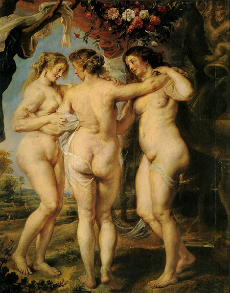 優美三女神 The Three Graces_魯本斯 Peter Paul Rubens.jpg