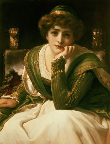 苔絲狄夢娜Desdemona_弗雷德里克·雷頓 Frederic Leighton.jpg