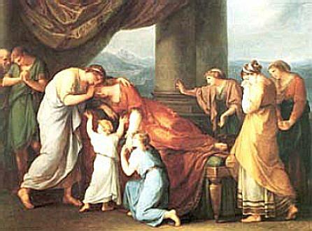 阿柯絲提斯之死 The Death of Alcestus _考夫曼 Angelika Kauffman.jpg.jpg