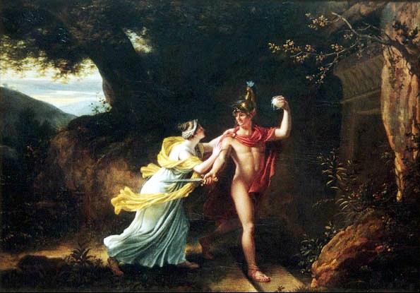忒修斯和阿麗雅德妮Theseus and Ariadne_瑞格諾特 Jean-Baptiste Regnault.jpg.jpg