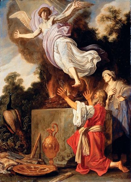 馬諾亞燔祭Sacrifice of Manoah_拉斯曼Pieter Lastman.jpg