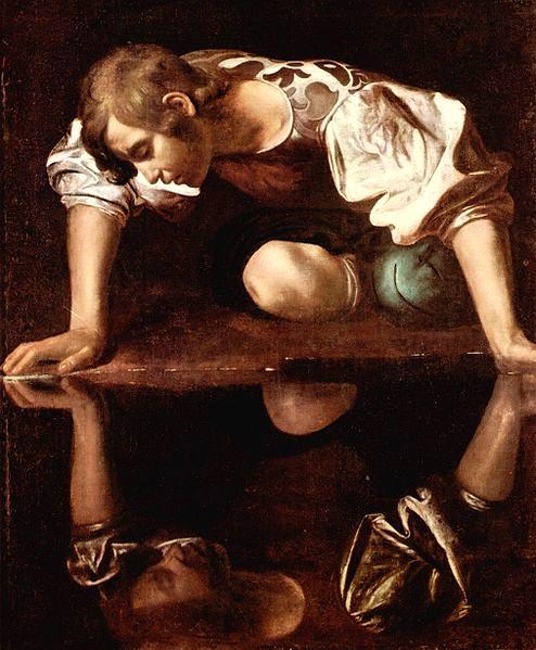 那西賽斯Narcisse_卡拉瓦喬Caravaggio.jpg