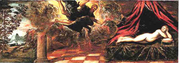 朱比特和塞墨勒 Jupiter and Semele _丁托列多仿作 Attributed to Jacopo Tintoretto.jpg