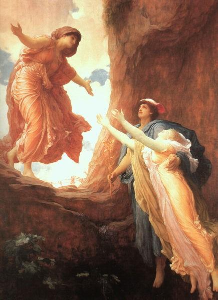 倍兒西鳳歸來 Return of Persephone  弗雷德裏克‧列頓 Frederic Leighton.jpg