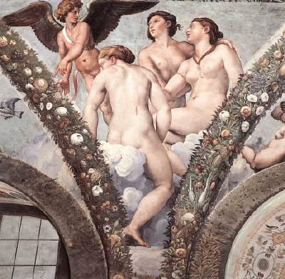 邱比特與美惠三女神Cupid and the Three Graces_拉斐爾 Raffaello Sanzio.jpg
