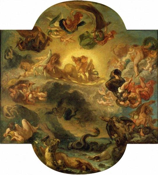 太陽神的勝利 Triumph of Apollo  德拉克洛瓦 Eugene Delacroix  .jpg